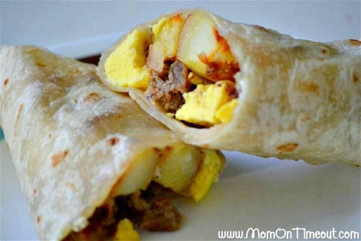 Breakfast Burrito Bonanza Recipe