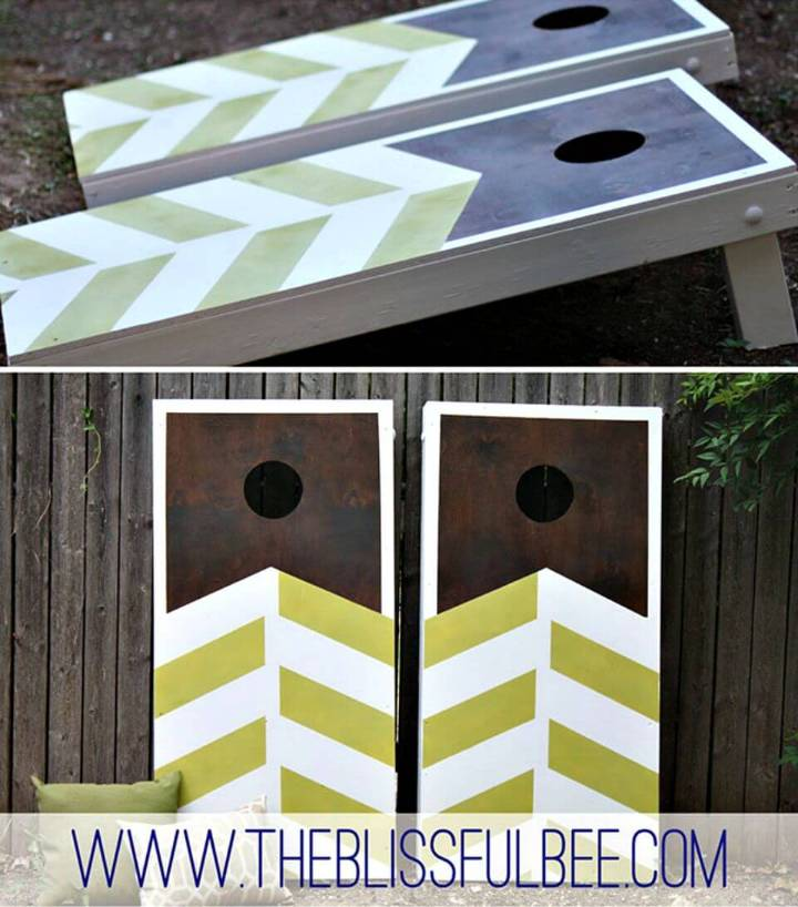 Simple DIY Corn Hole Game
