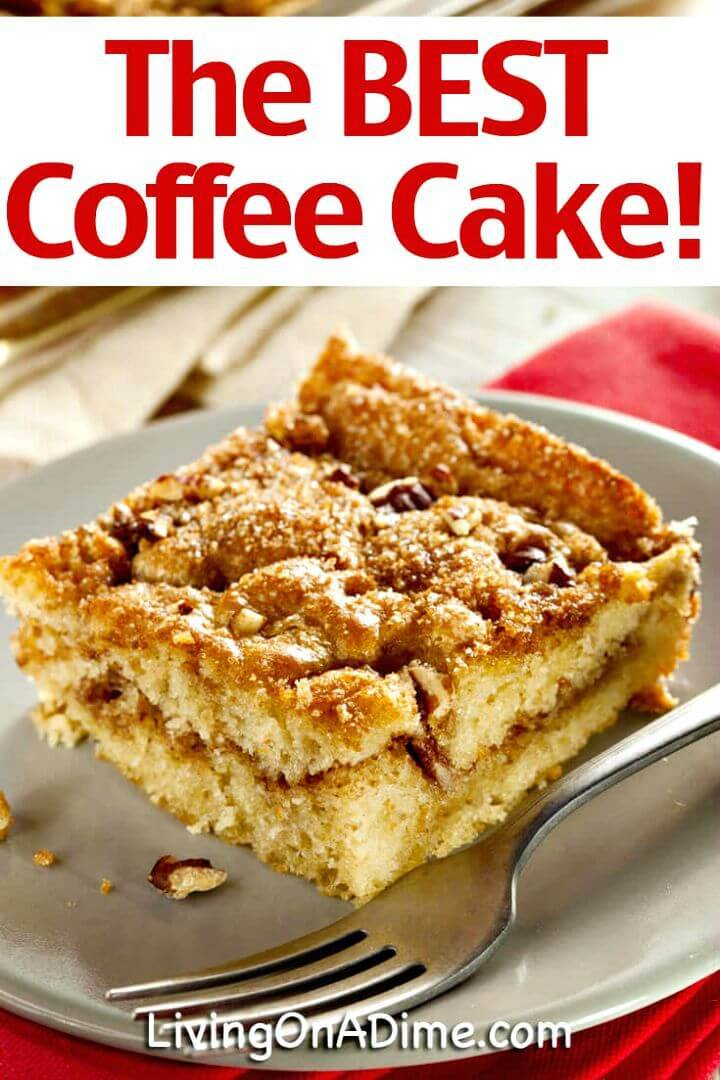 Easy Homemade Coffee Cake Recipe