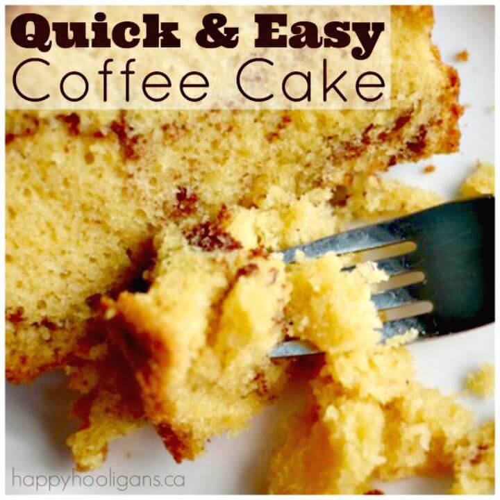 Quick and Easy Coffee Cake Recipe