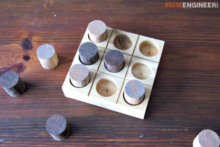 Quick and Easy DIY Tic-Tac-Toe