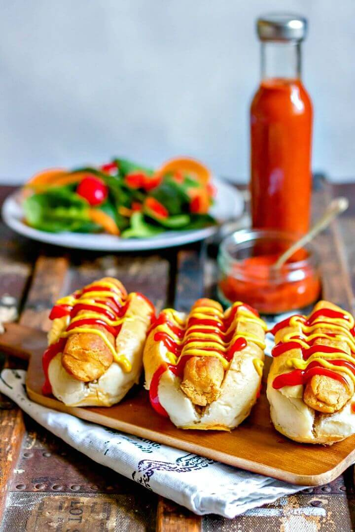 Tasty Carrot Hot Dog Recipe