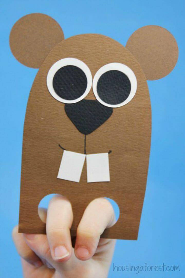 DIY Finger Puppet Craft for Kids