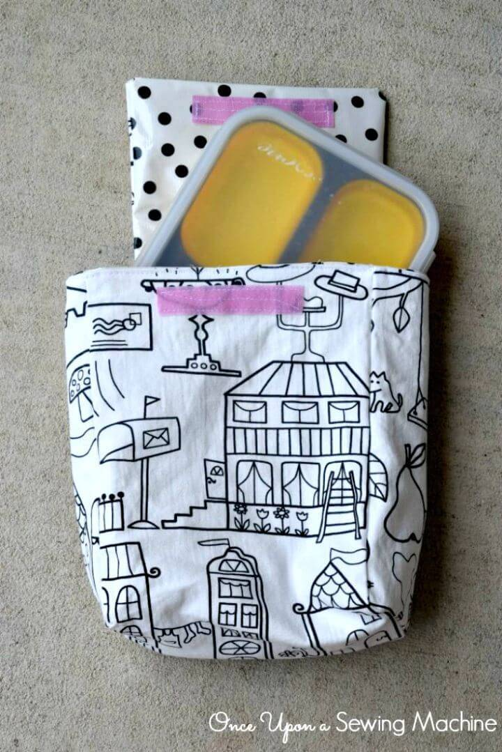 Adorable DIY Lunch Bag