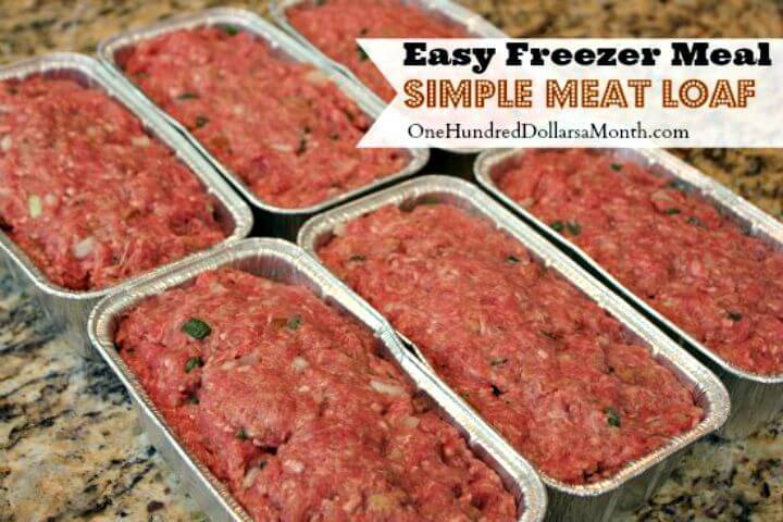 Easy Meat Loaf Recipe - DIY