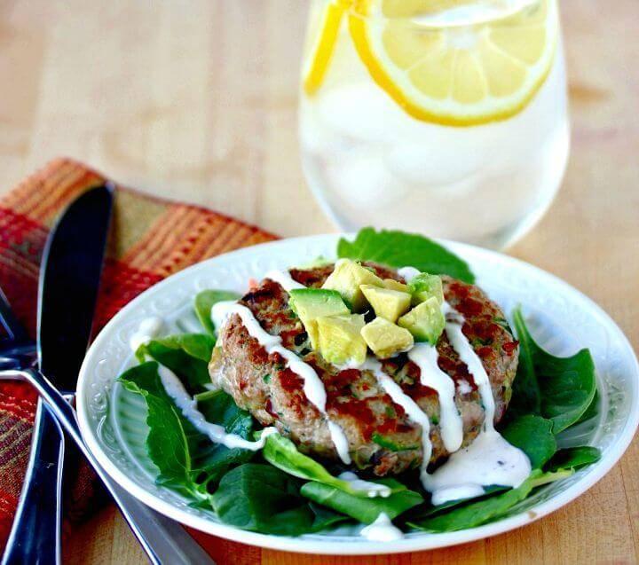 Bacon Turkey Burgers Recipe - DIY