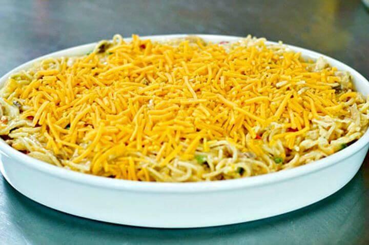 Easy Chicken Spaghetti Recipe