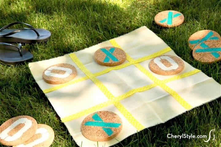 Super Easy DIY Tic-Tac-Toe Game
