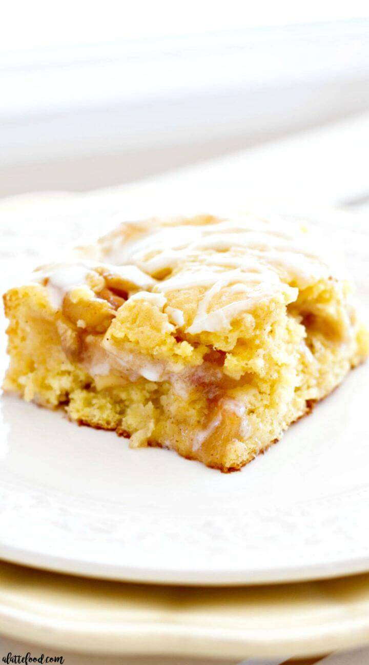 Sweet Apple Pie Coffee Cake Recipe