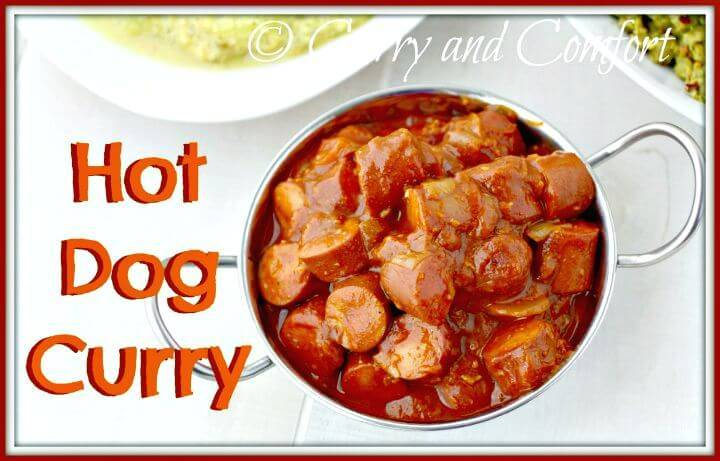 Sweet and Tangy Hot Dog Curry Recipe - DIY