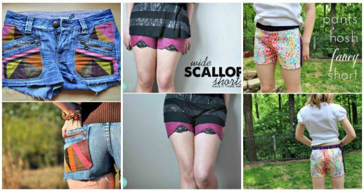 81 Attractive DIY Shorts Ideas To Try Out This Summer, DIY Fashion, DIY Crafts, DIY Ideas, DIY Outfits
