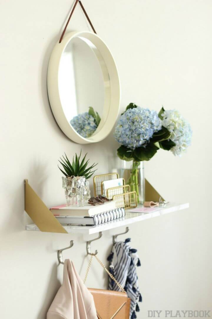 How to Build a Marble Shelf – DIY Ikea Hack