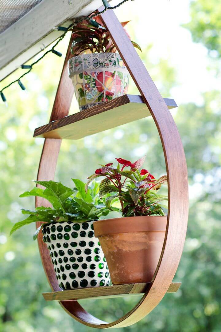Easy DIY Hanging Plant Holder