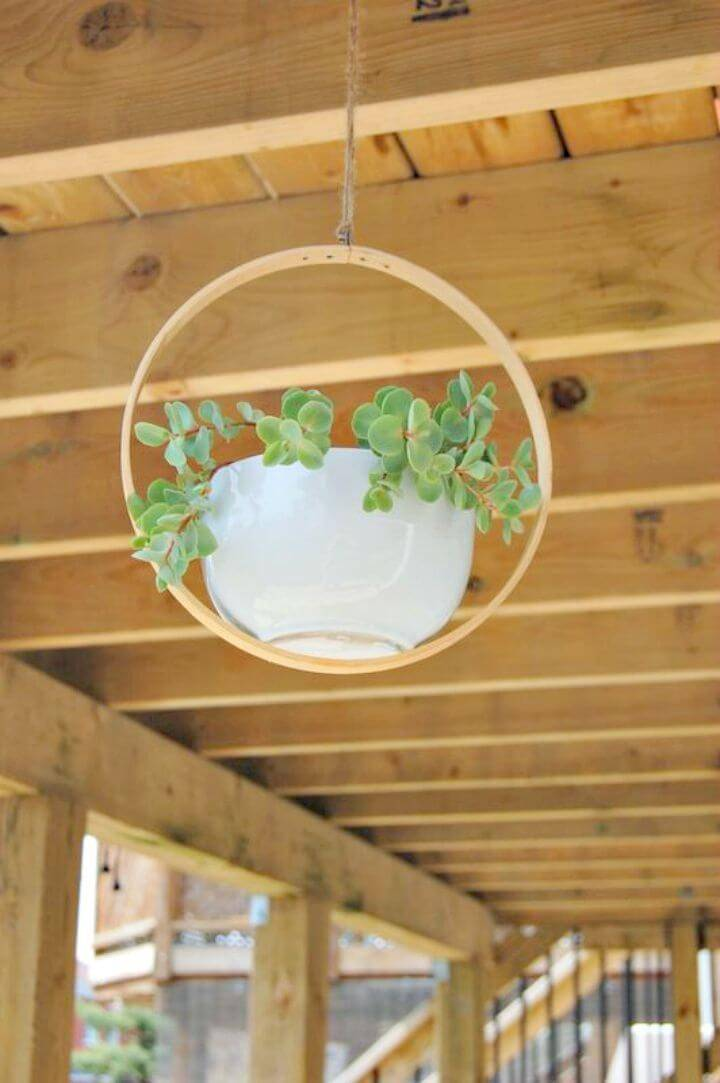 How to Make Hanging Planter - DIY Garden