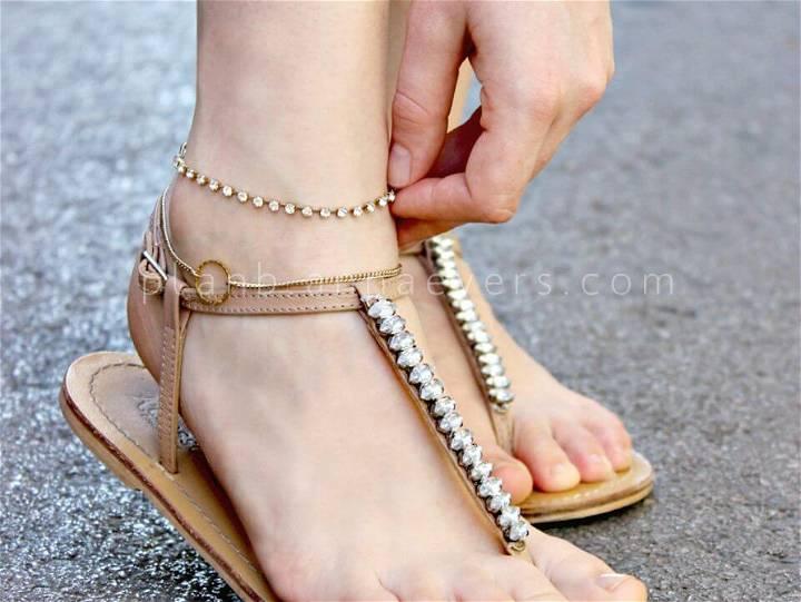 How to Make Ankle Bracelet - DIY