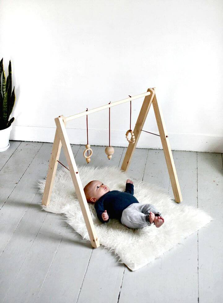 How to Make Wooden Baby Gym