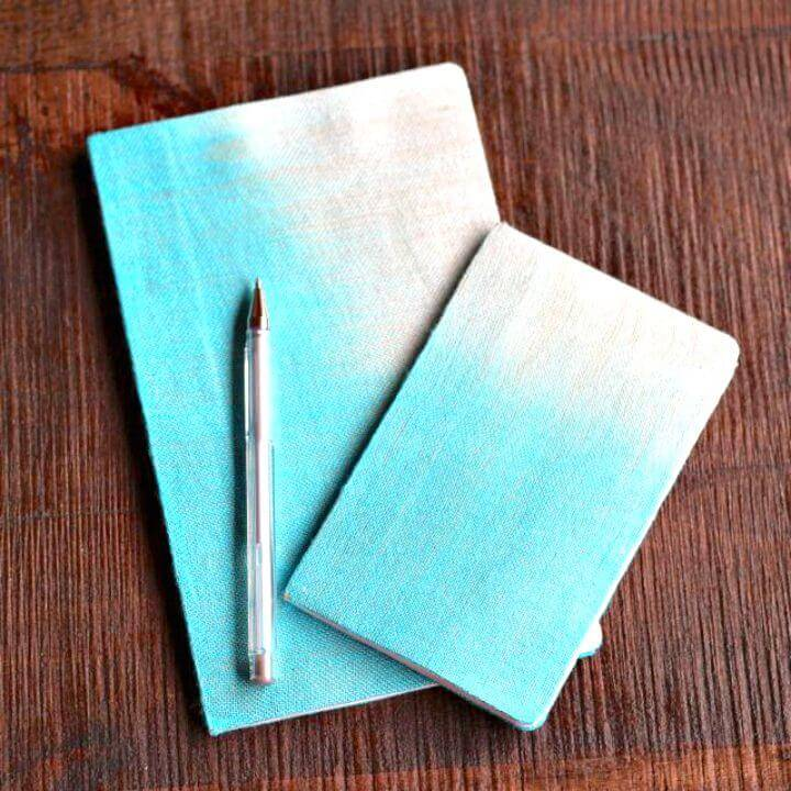 How to Make Fabric Covered Notebook