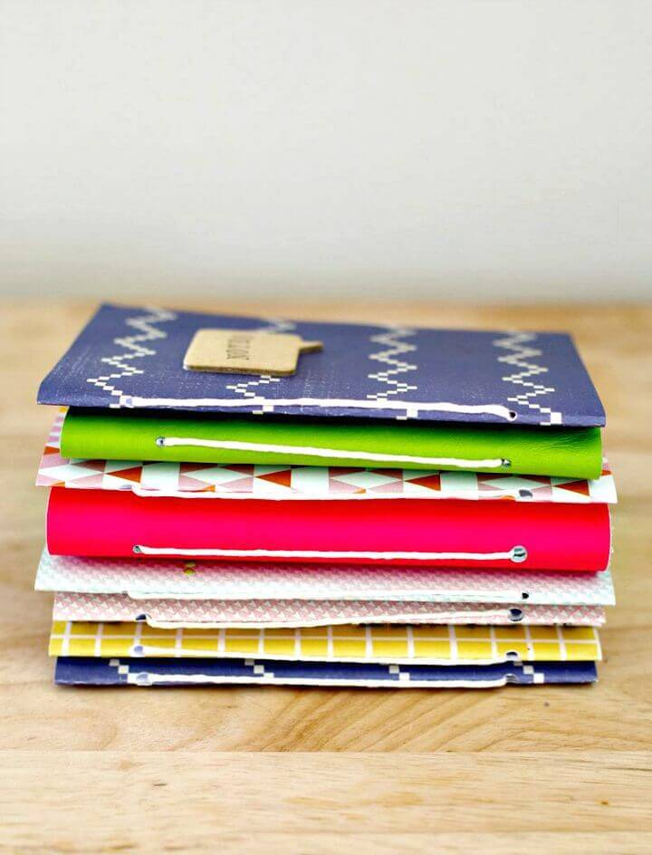 DIY Homemade Journals Covers