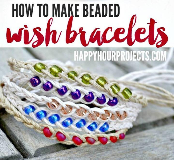 DIY Wish Bracelets Tutorial:
