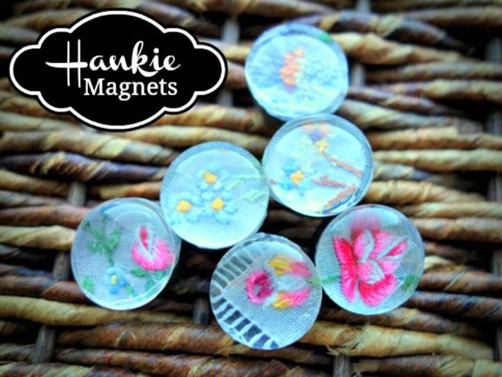 Quick DIY Glass Marble Magnets
