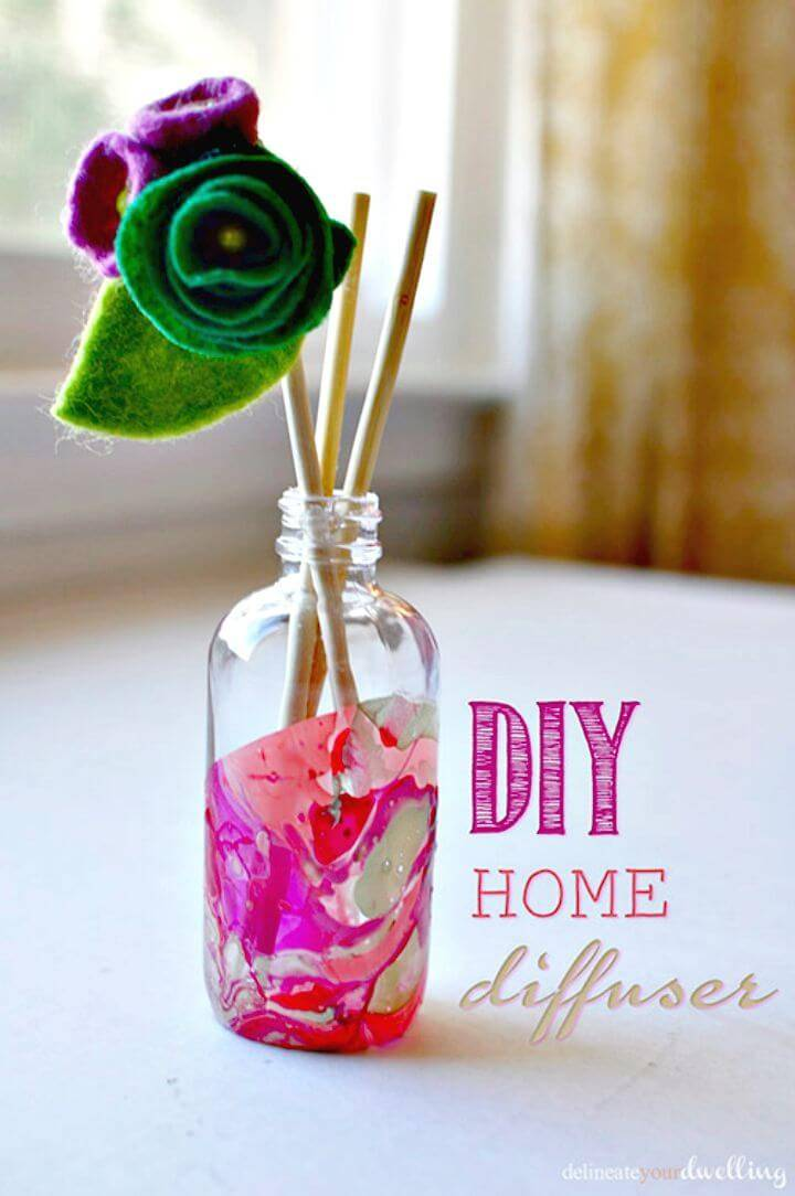 How to Make Marble Room Diffuser - DIY