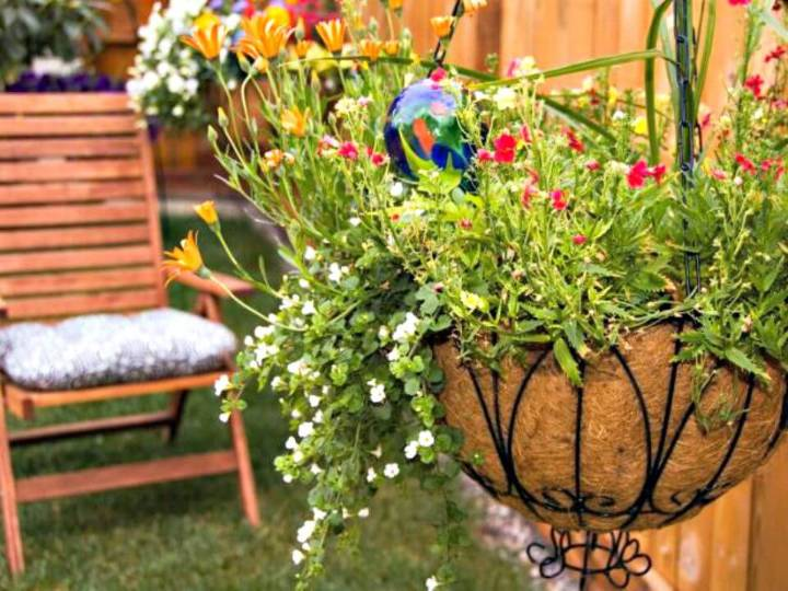 How to Make Plant Hanging Baskets - DIY