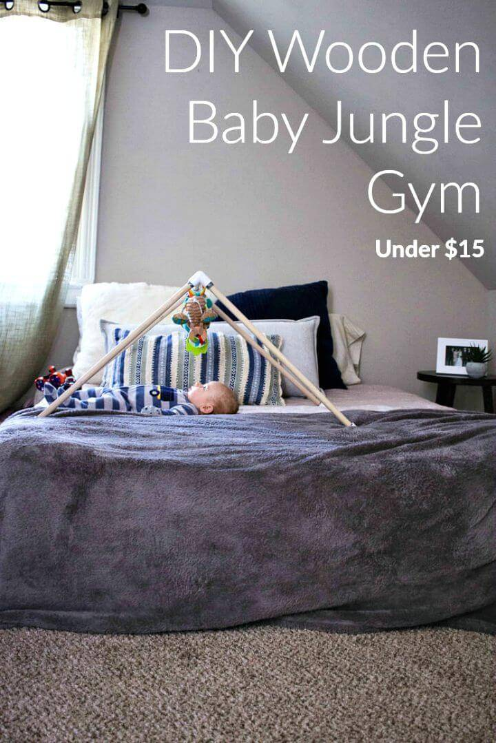 Make Wooden Baby Jungle Gym