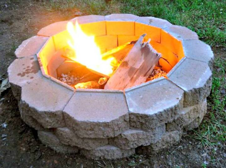 Build a Back Yard Fire Pit - DIY