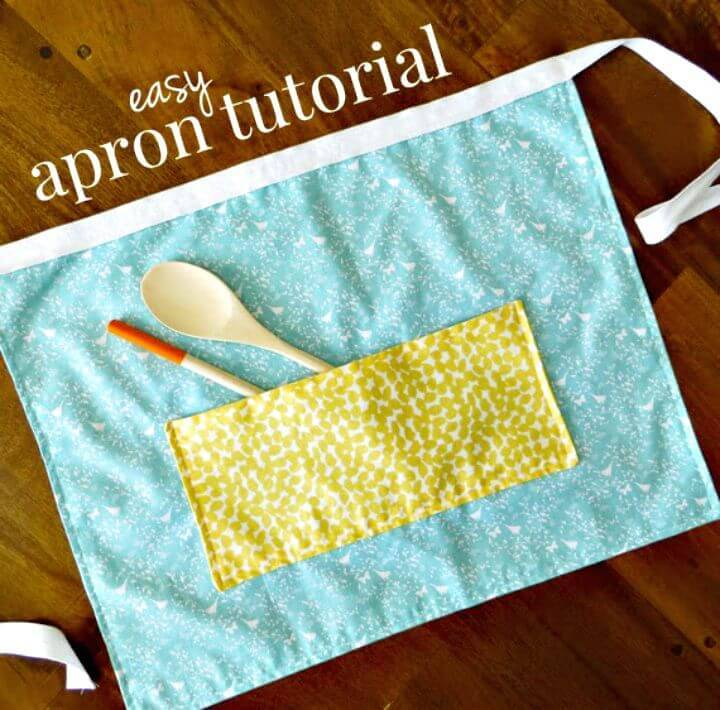DIY Apron with Fat Quarters