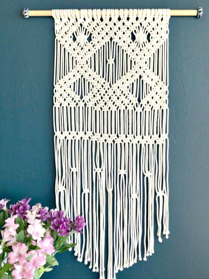 Easy DIY Macrame Wall Hanging for Beginners
