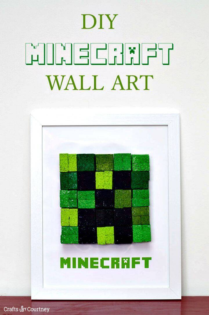 How to Make Minecraft Creeper for Kids