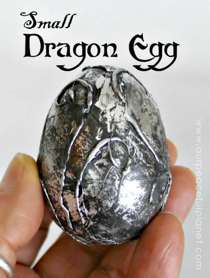 How to Make Small Dragon Egg - DIY