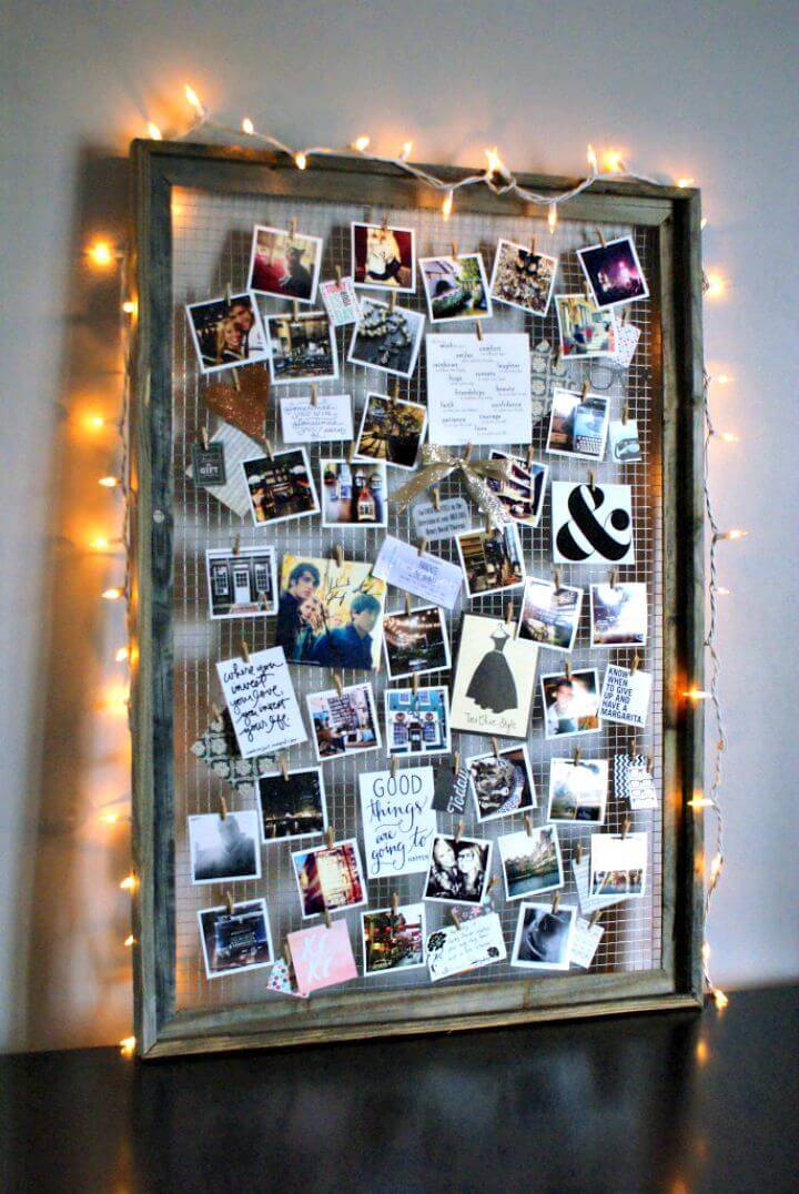 DIY Inspiration + Mood Board - Reuse Old Picture Frames