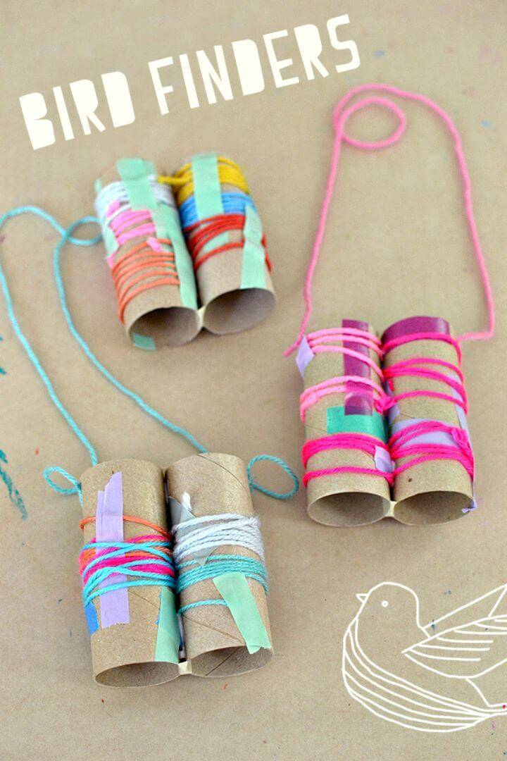 How To Make Bird Finder Binoculars for Kids - DIY