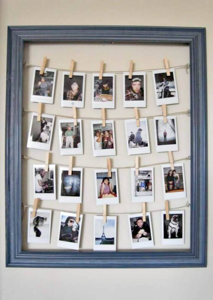 How To Make Frame for Polaroids