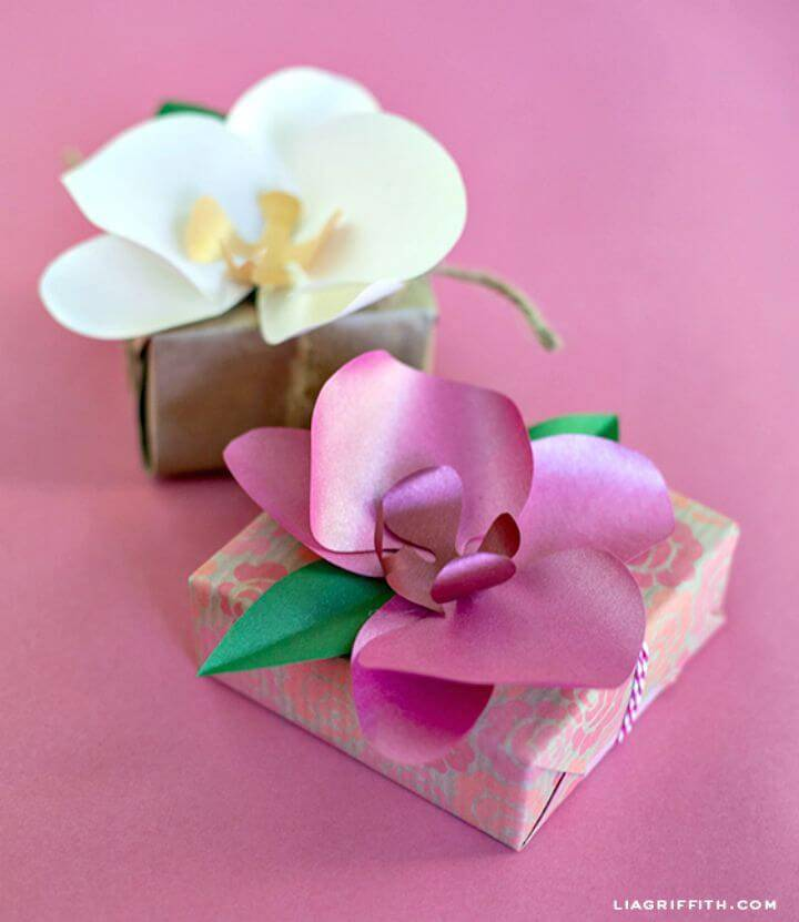 How to Make Paper Orchid: - DIY
