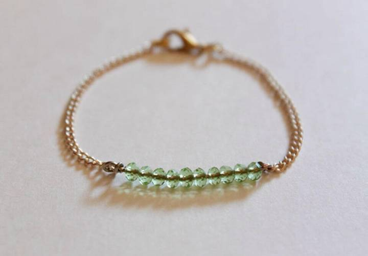 How To Make Bead Bracelet - DIY