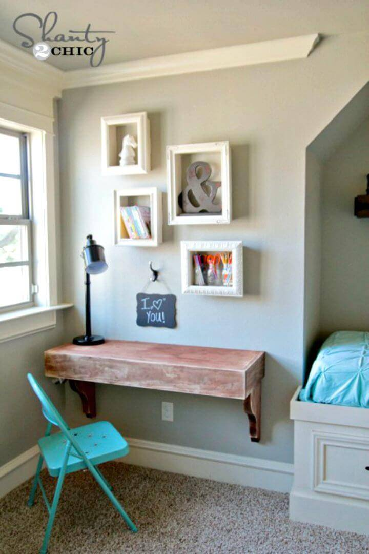 How To Make Frame Shelves - DIY Projects