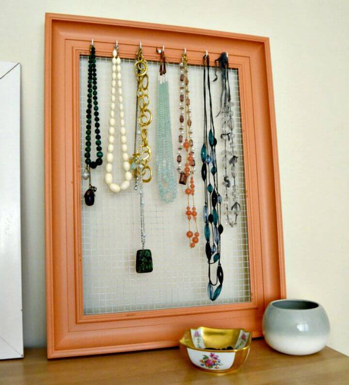 How To Make Jewelry Organizer - DIY Projects