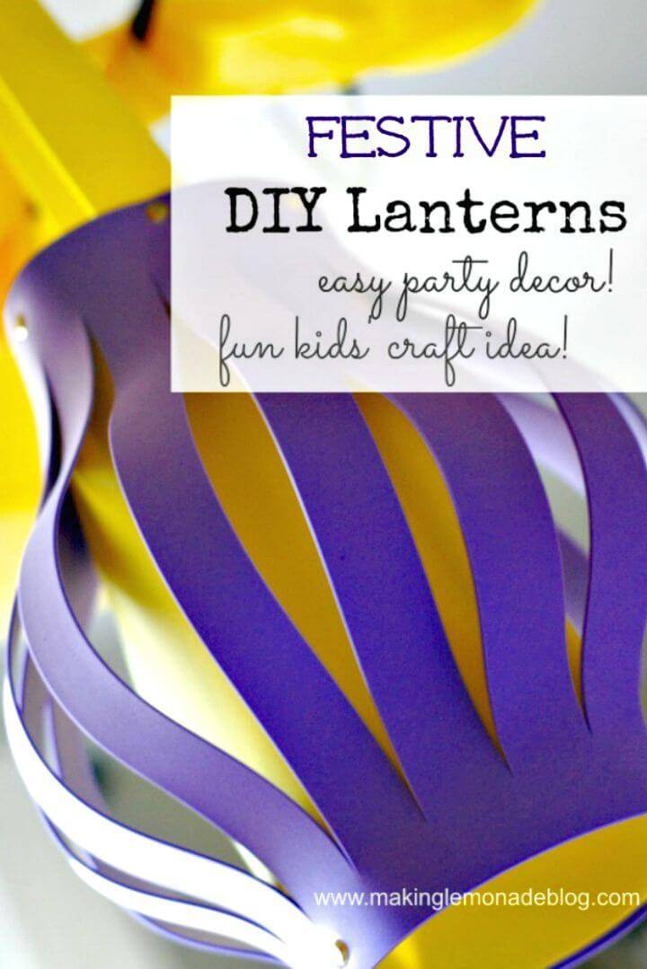 Make Your Own Lanterns