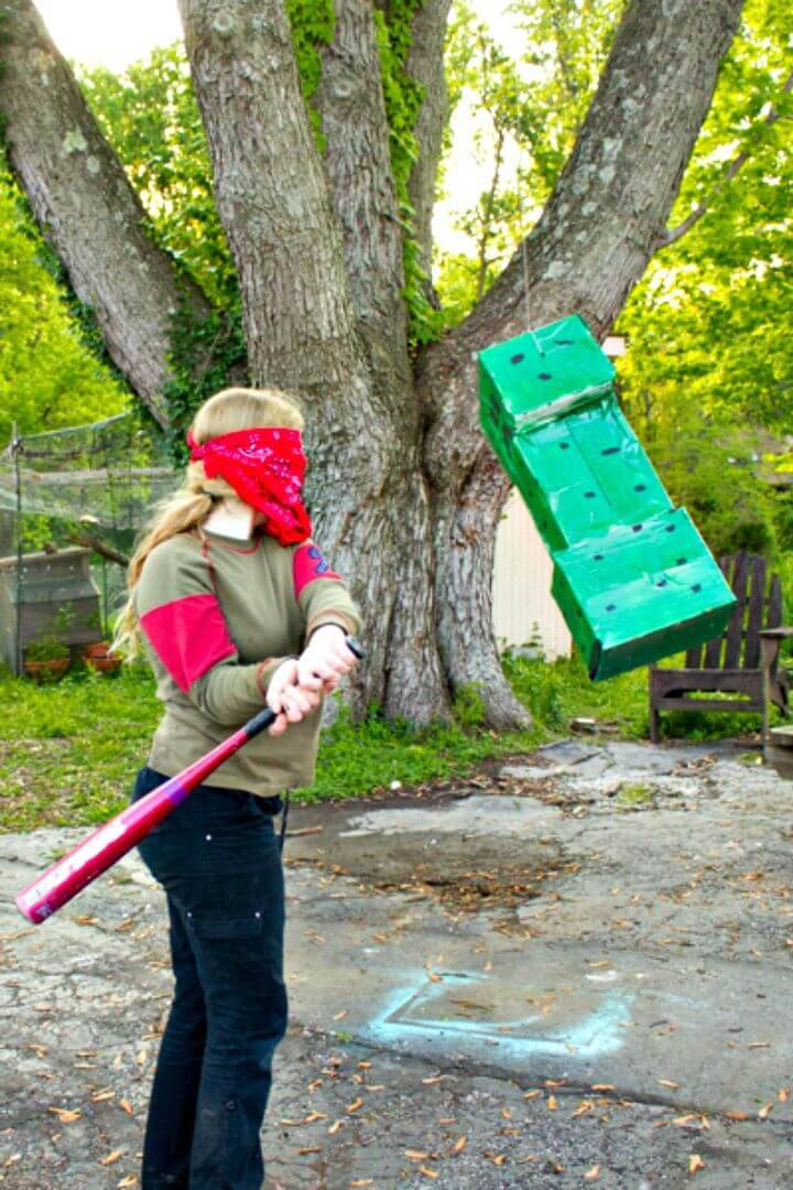 How To Make Minecraft Creeper Pinata