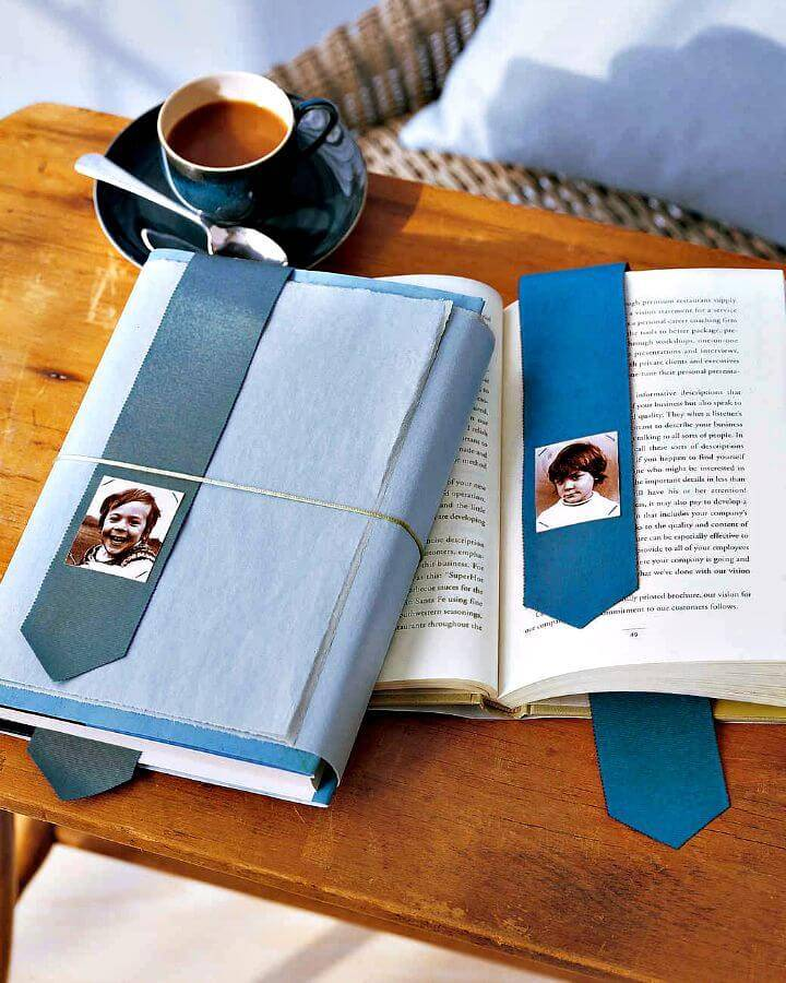 DIY Photo Bookmark