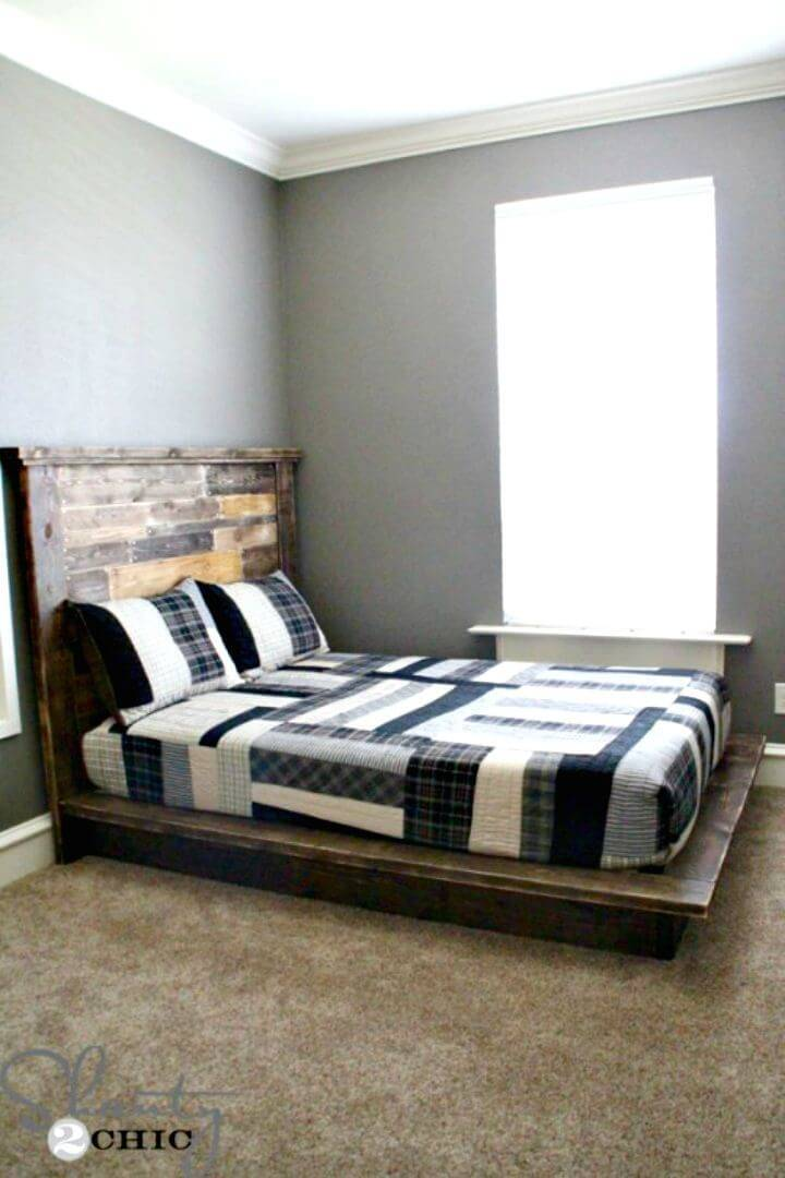 Build Your Own Platform Bed - DIY