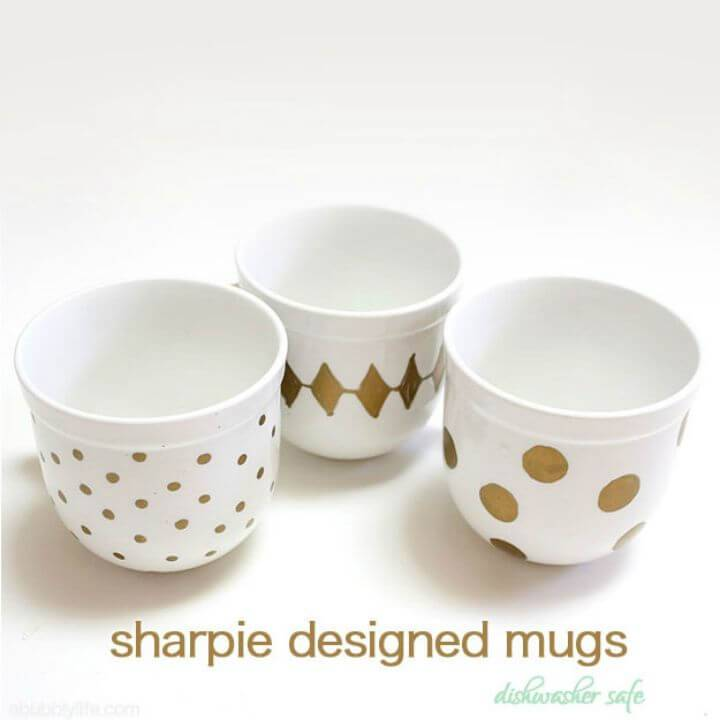 How To Make Sharpie Coffee Mugs