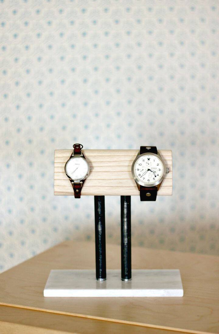 How To Make Watch Stand - Last Minute DIY Gift