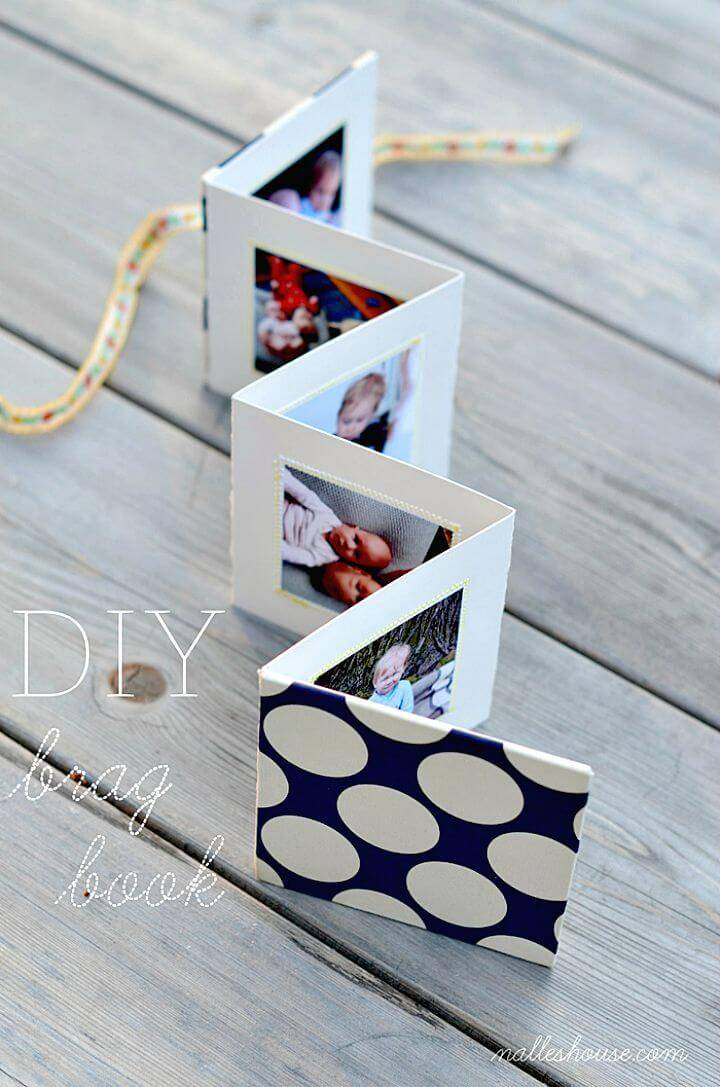 DIY Brag Book for Photos Gift