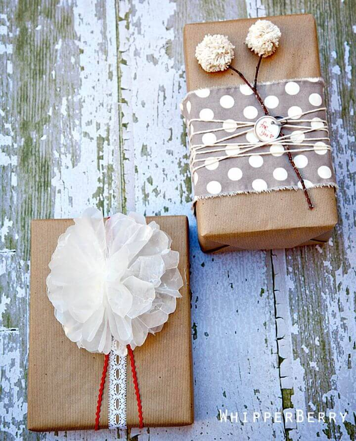 Easy to Make Wax Paper Bow