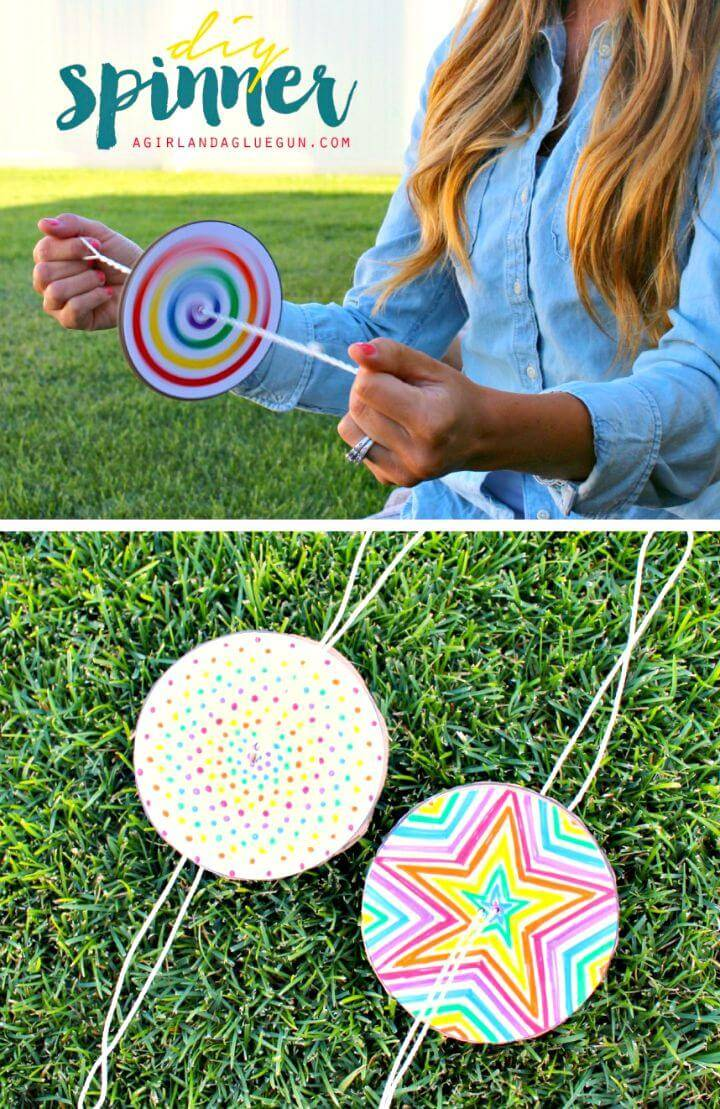 Awesome DIY Paper Spinner