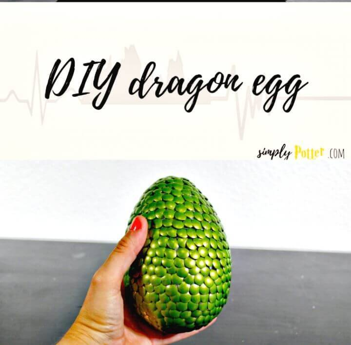 How to Make Dragon Egg - DIY