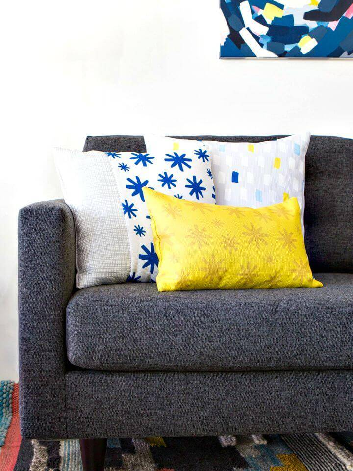 DIY Throw Pillow Covers - DIY Gift Ideas